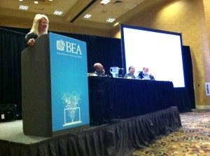 Candace Egan at BEA.